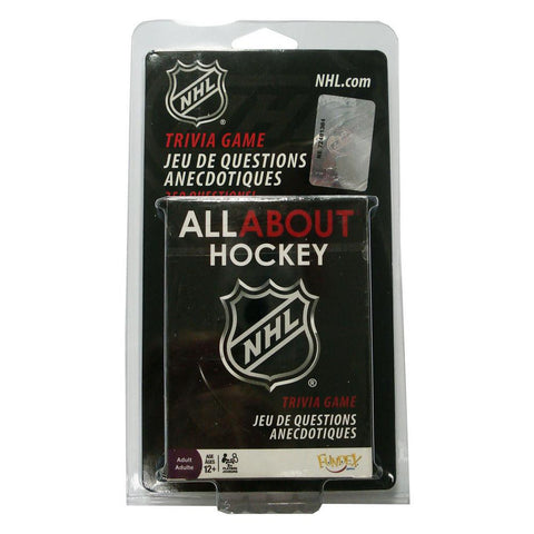 All About Trivia Card Game - NHL - Peazz.com