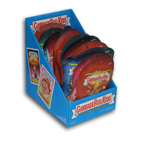 Garbage Pail Kids Magnet Cards With Candy (18 Packs) - Peazz.com