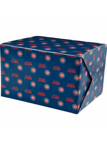 2-Packages of MLB Gift Wrap - Cubs - Peazz.com