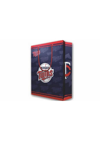 2 MLB Large Gift Bag - Twins - Peazz.com