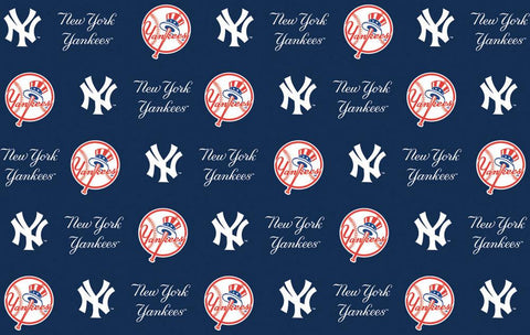 2-Packages of MLB Gift Wrap - Yankees - Peazz.com