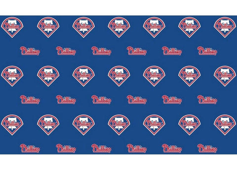 2-Packages of MLB Gift Wrap - Phillies - Peazz.com