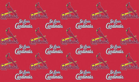 2-Packages of MLB Gift Wrap - Cardinals - Peazz.com
