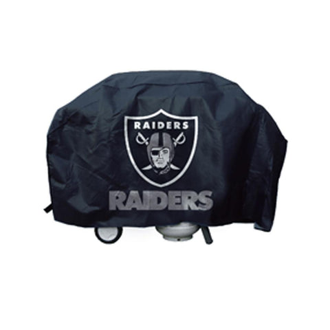 NFL Licensed Economy Grill Cover - Oakland Raiders - Peazz.com