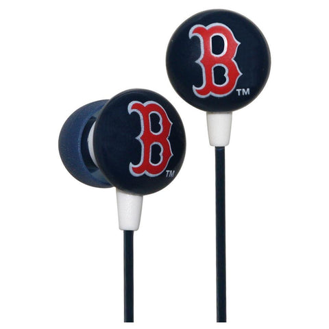Ihip Logo Baseball Earbuds - Boston Red Sox - Peazz.com