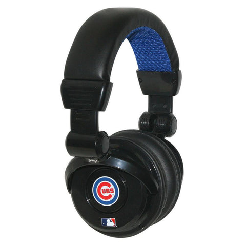 Ihip MLB Pro Dj Headphones With Microphone - Chicago Cubs - Peazz.com