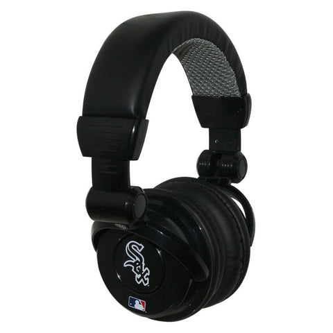 Ihip MLB Pro Dj Headphones With Microphone - Chicago White Sox - Peazz.com