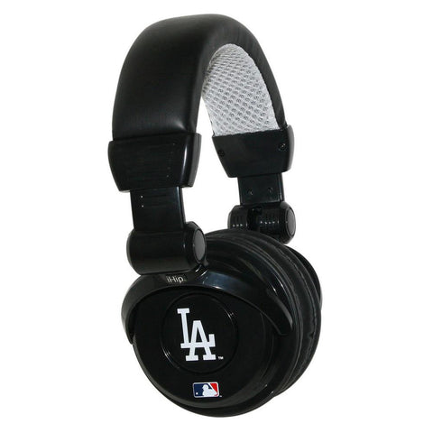 Ihip MLB Pro Dj Headphones With Microphone - Los Angeles Dodgers - Peazz.com