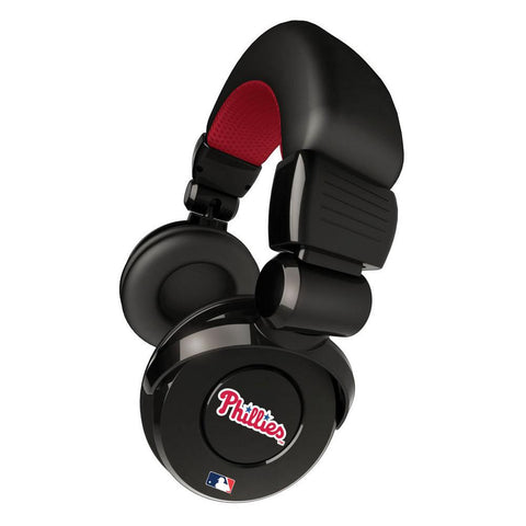 Ihip MLB Pro Dj Headphones With Microphone - Philadelphia Phillies - Peazz.com