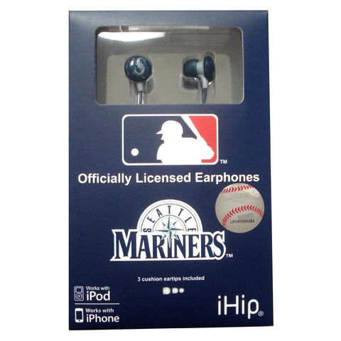 Ihip Logo Earbud - Seattle Mariners - Peazz.com