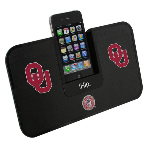 Portable Premium Idock With Remote Control - Oklahoma Sooners - Peazz.com