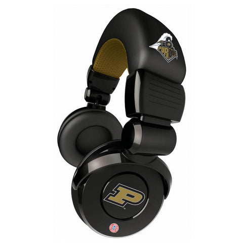 Ihip Pro Dj Headphones With Microphone - Purdue Boilermakers - Peazz.com