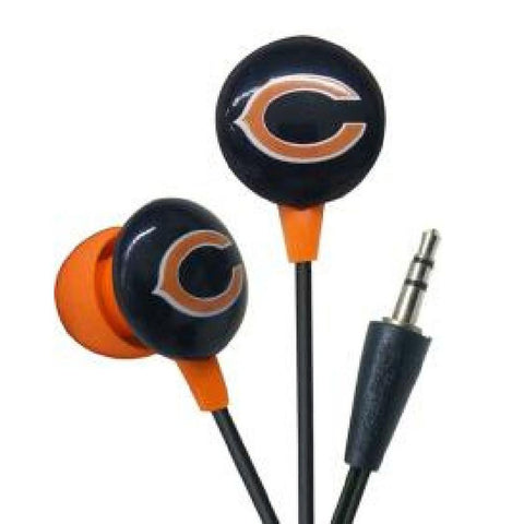 Ihip Logo Earbuds - Chicago Bears - Peazz.com