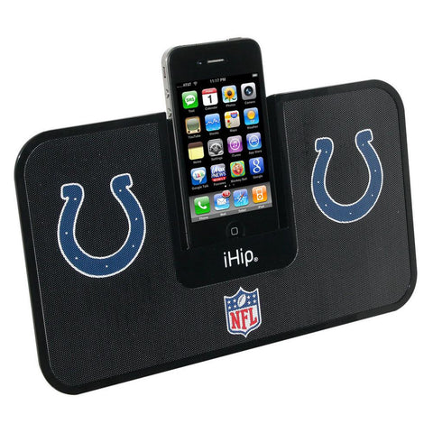 NFL Team Ihip Logo I-Dock Speaker - Indianapolis Colts - Peazz.com