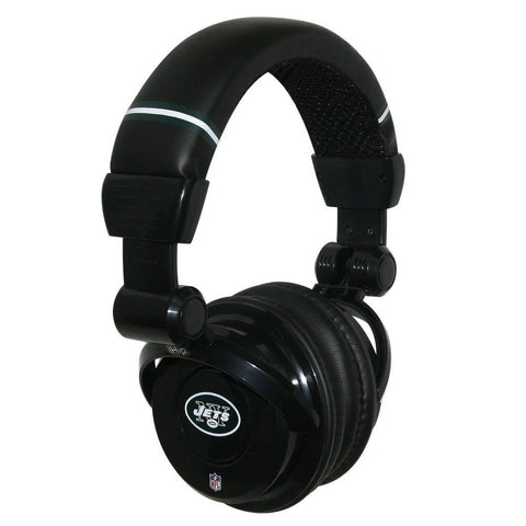 Ihip Pro Dj Headphones With Microphone - New York Jets - Peazz.com
