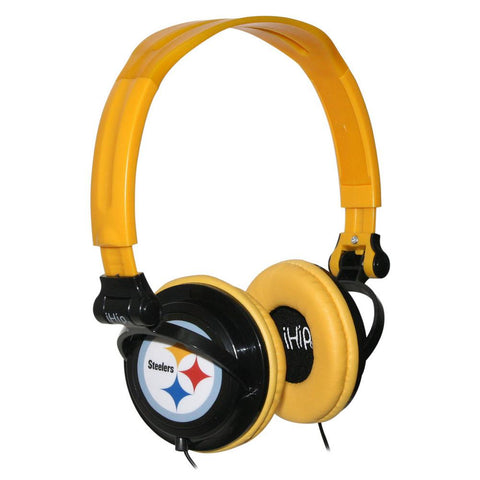 Slim DJ headphones - Pittsburgh Steelers - Peazz.com