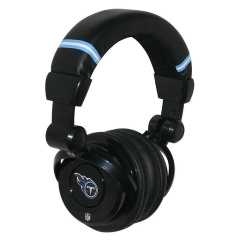 Ihip NFL Pro Dj Headphones With Microphone - Tennesseetitans - Peazz.com