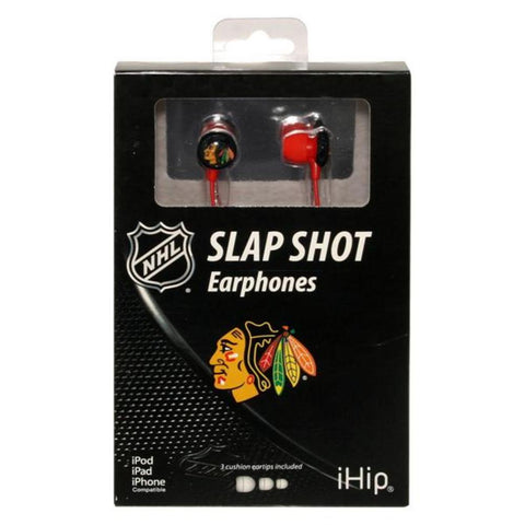 Ihip Logo Earbud - Chicago Blackhawks - Peazz.com