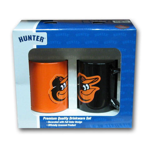 Hunter 2 Pack Coffee Mug - Baltimore Orioles - Peazz.com