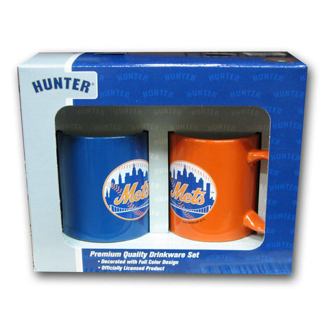 Hunter 2 Pack Coffee Mug - New York Mets - Peazz.com