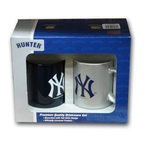 Hunter 2 Pack Coffee Mug - New York Yankees - Peazz.com