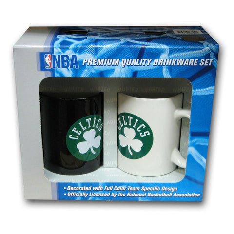 Hunter 2 Pack Coffee Mug - Boston Celtics - Peazz.com