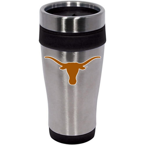 Hunter Texas Longhorns Stainless Steel Mug With Color Accent - Peazz.com
