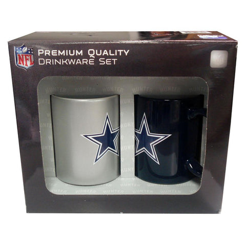 Hunter 2 Pack Coffee Mugs - Dallas Cowboys - Peazz.com