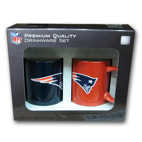 Hunter 2 Pack Coffee Mug - New England Patriots - Peazz.com