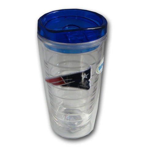 Hunter Insulated Tumbler With Patch - New England Patriots - Peazz.com