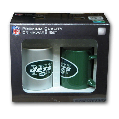 Hunter 2 Pack Coffee Mug - New York Jets - Peazz.com