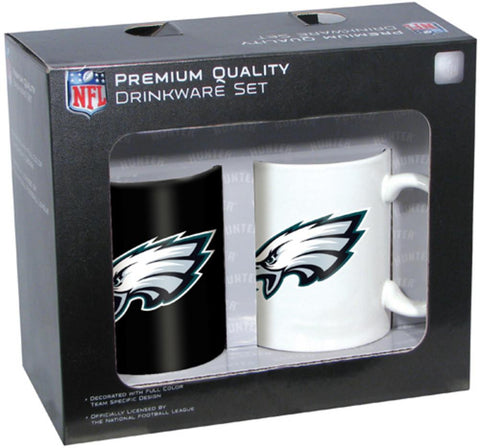 Hunter 2 Pack Coffee Mug - Philadelphia Eagles - Peazz.com