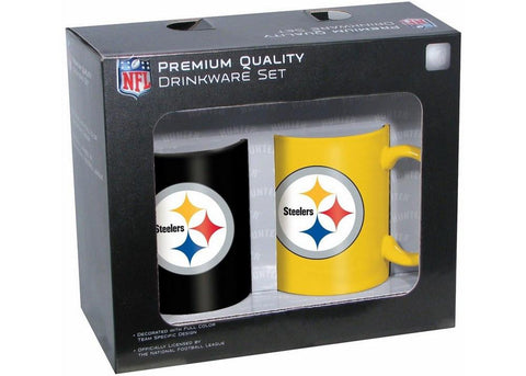 Hunter 2 Pack Coffee Mug - Pitsburgh Steelers - Peazz.com