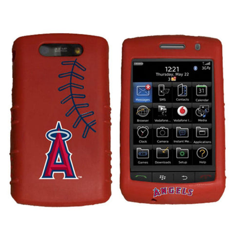 Cashmere Silicone Blackberry Storm Case - Los Angeles Angels of Anaheim - Peazz.com