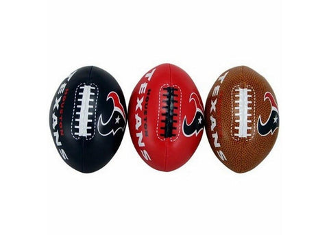 3-Football Softee Set Houston Texan - Peazz.com