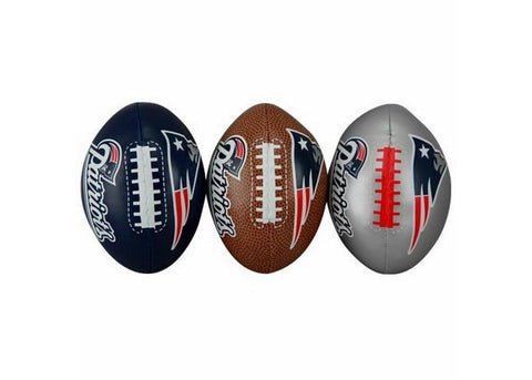 3-Football Softee Set New England Patriots - Peazz.com