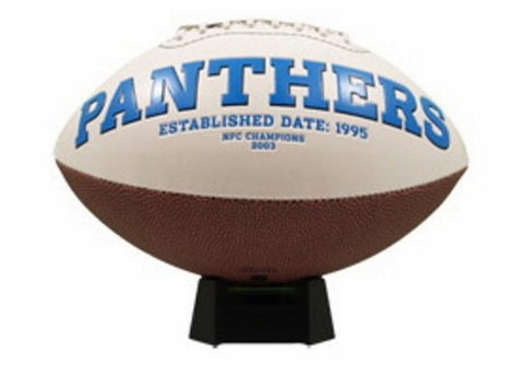 Signature Series Team Full Size Footballs - Carolina Panthers - Peazz.com