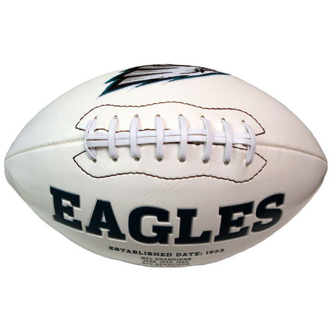 Signature Series Team Full Size Footballs - Philadelphia Eagles - Peazz.com
