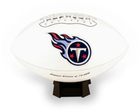 Signature Series Team Full Size Footballs - Tennessee Titans - Peazz.com