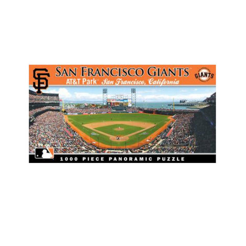 1000 Piece Ballpark Puzzle - San Francisco Giants - Peazz.com