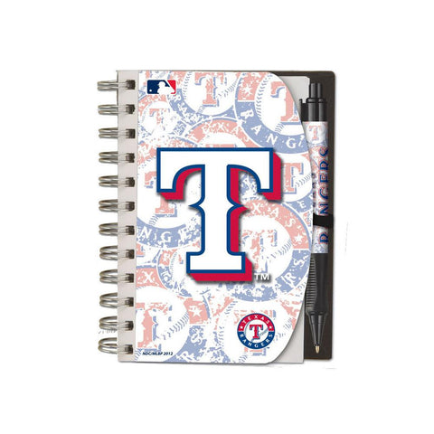 Deluxe Hardcover 4X6 Notebook & Pen Set (Grip) - Texas Rangers - Peazz.com
