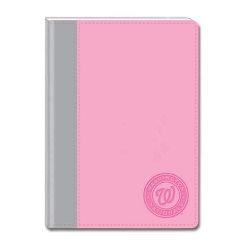 Pink Writing Journal - Washington Nationals - Peazz.com