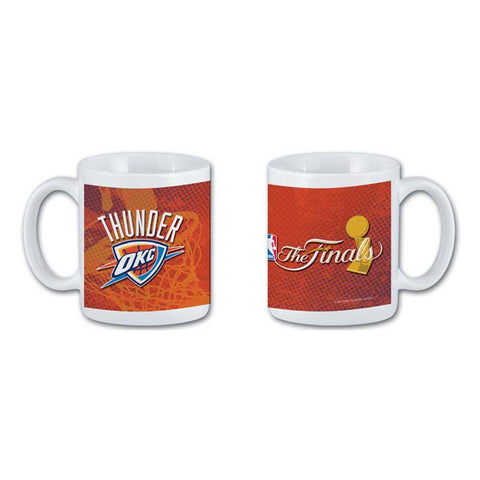 National Design 11Oz Coffee Mug - Oklahoma City Thunder 2012 Finals - Peazz.com