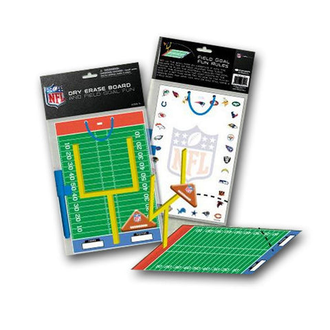 NFL Dry Erase Board With Pen And Field Goal Fun Activity Set - Peazz.com