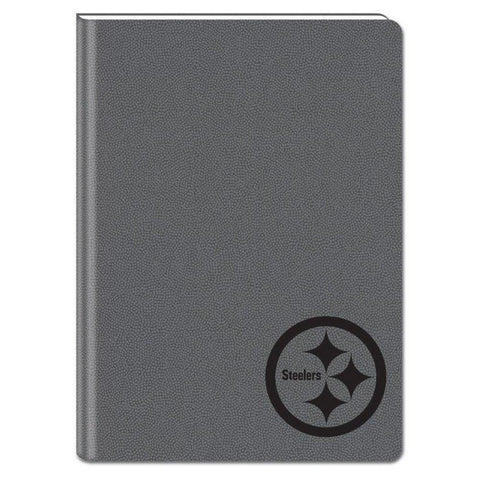 Gray 5X7 Writing Journal - Pittsburgh Steelers - Peazz.com