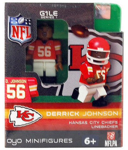 OYO NFL Figure - Kansas City Chiefs Derrick Johnson - Peazz.com
