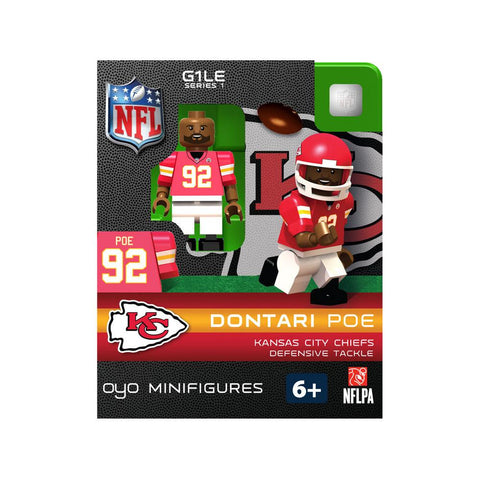 OYO NFL Figure - Kansas City Chiefs Dontari Poe - Peazz.com