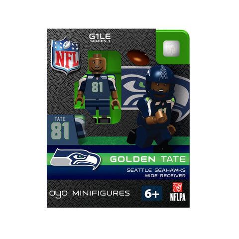 OYO NFL Figure - Seattle Seahawks - Golden Tate - Peazz.com