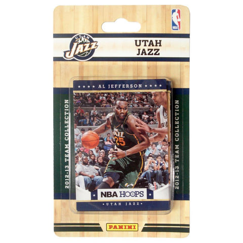 2012 Panini NBA Hoops Team Set - Utah Jazz - Peazz.com