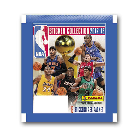 2012/13 Panini NBA Individual Sticker Pack - Peazz.com